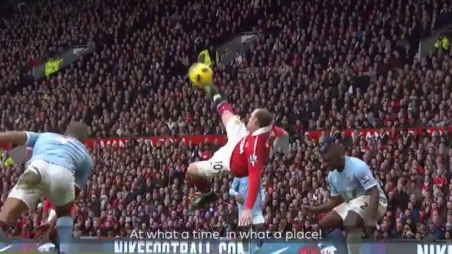 It's 8️⃣ years since @WayneRooney's incredible bicycle kick 🚲  But which is your favourite of these brilliant #PL overhead finishes?