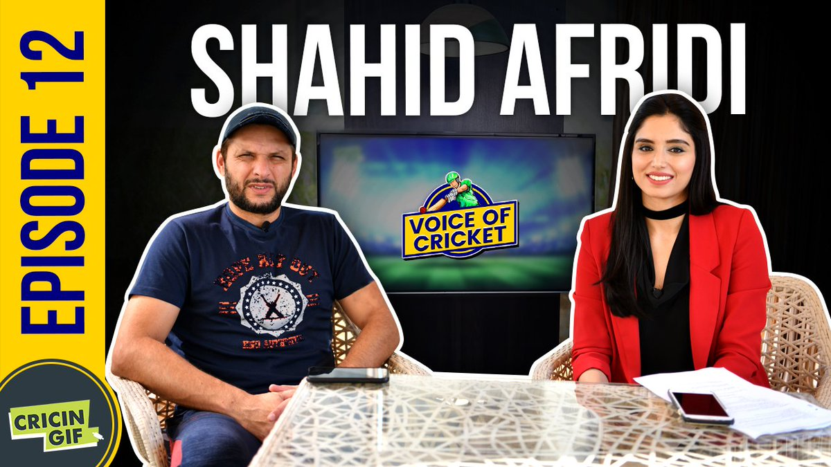 """🎥 """"The bat I used to score my fastest century traveled a long way. @sachin_rt gave it to Moin Khan and then it reached @waqyounis99,"""" @SAfridiOfficial reveals an interesting story in an interview with @ZAbbasOfficial   Full interview 👉 https://www.youtube.com/watch?v=tcIZlqtJ28E…  #PSL2019"""