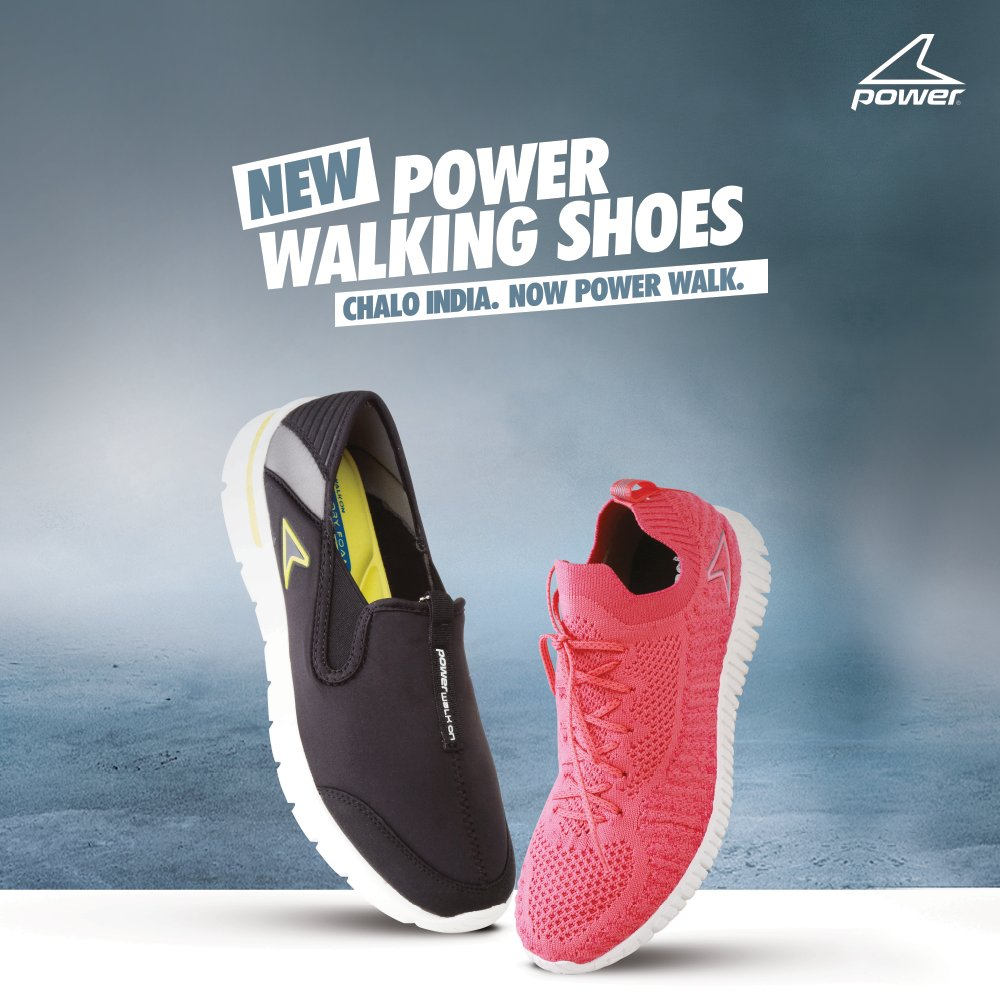 PowerWalk with new Power walking shoes