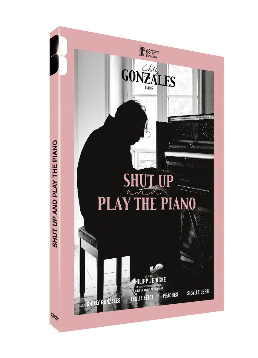 Nouveau #Concours 🎁      3 DVD à gagner de #ShutUpAndPlayThePiano, documentaire sur le génial @chillygonzales, une des plus grands musiciens contemporains, sortie chez @BlaqOut_.      Joues en ➡ RT + follow @PublikArt & @JM_Siousarram.  Bonne chance 🤞🏽