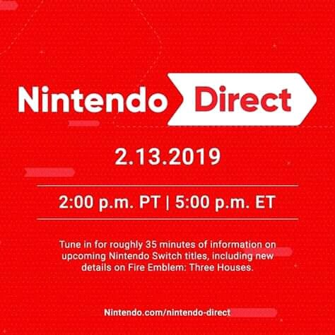 #NintendoDirect Photo