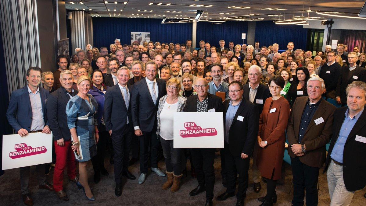 Ook @Aalsmeer_NL heeft zich aangesloten bij #eentegeneenzaamheid