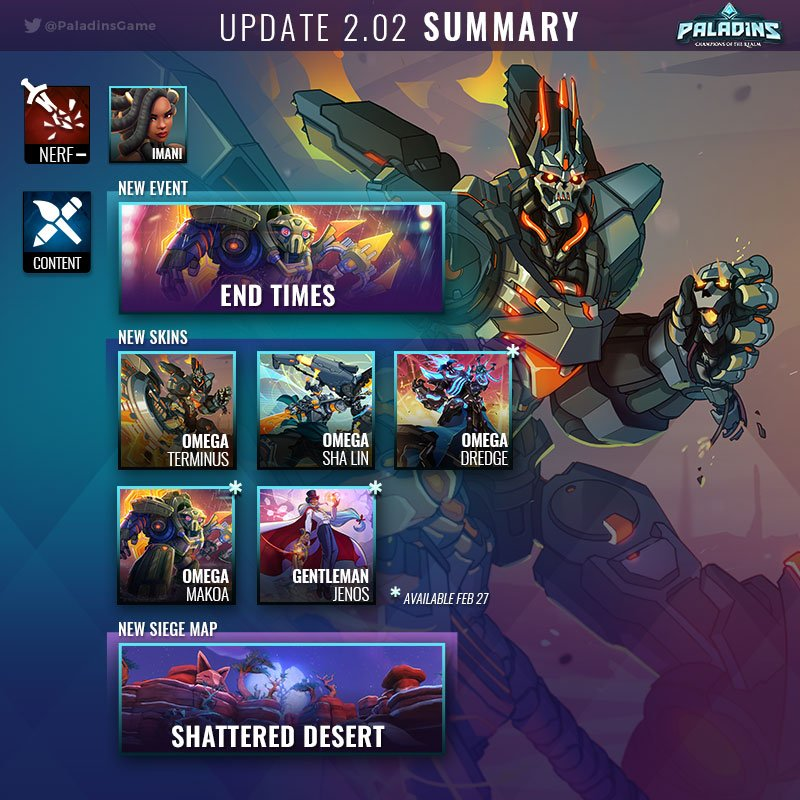 Paladins The Game PaladinsGame Twitter Paladins in 2019