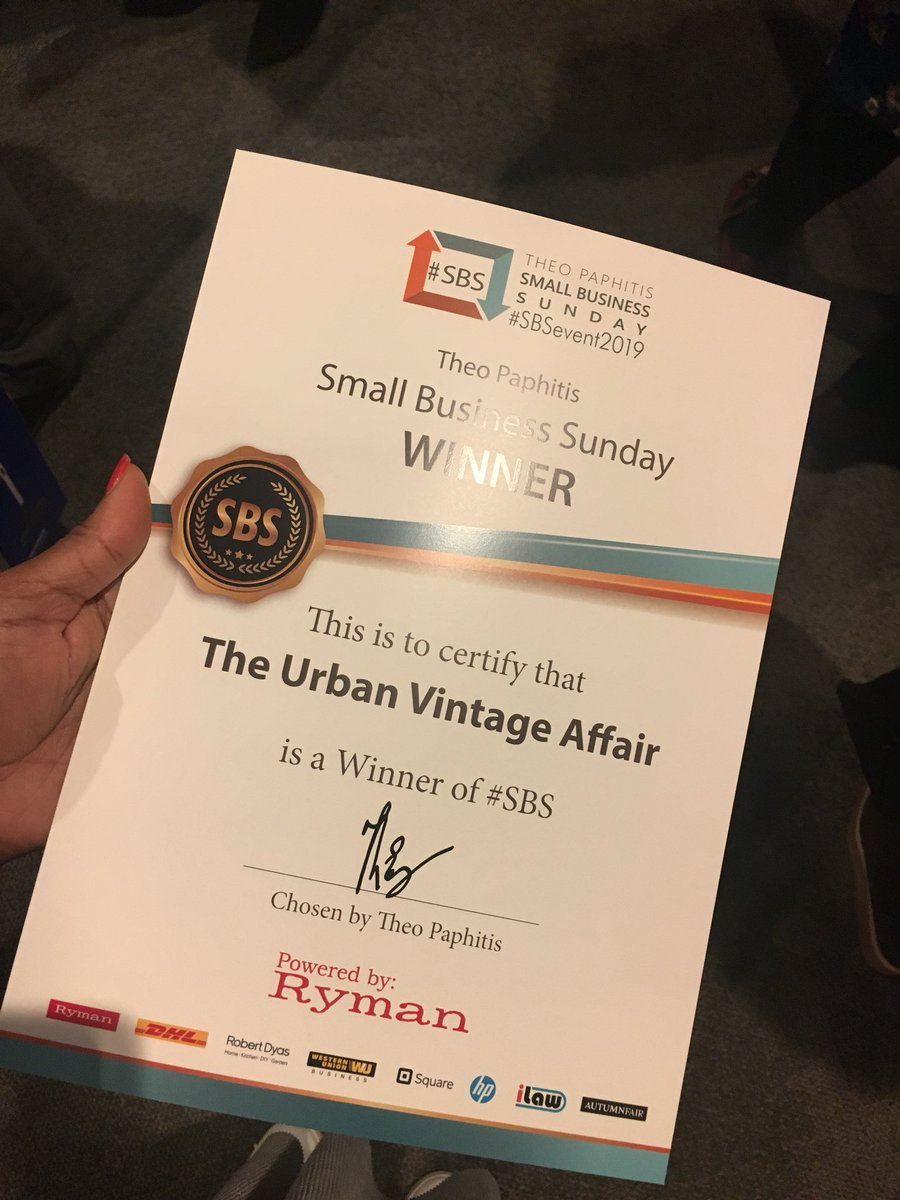 The Urban Vintage Affair's photo on #SBSevent2019