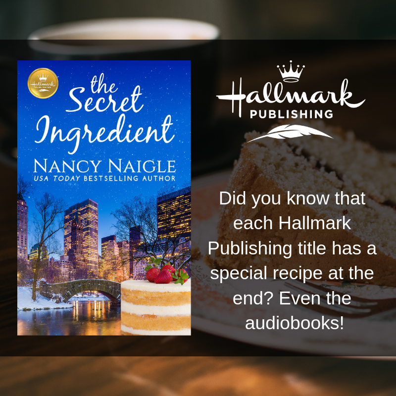 Listen to @KarissaVacker narrate THE SECRET INGREDIENT by @nancynaigle on #hoopla! Don't miss the special recipe for Honey Almond Cake with Berries and Mascarpone Crème Fraiche at the end! @dreamscapeaudio @HallmarkPublish  📚 https://www.hoopladigital.com/collection/5789