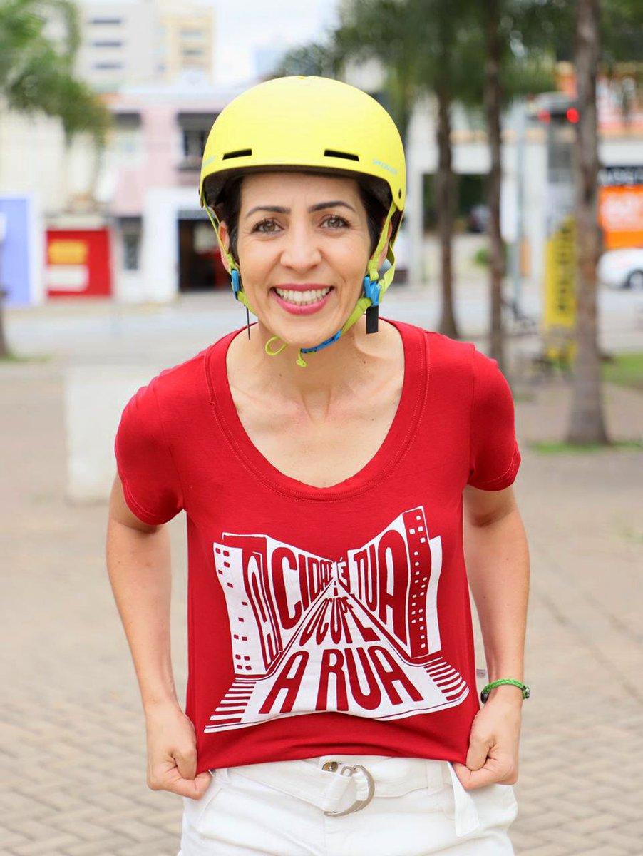 """""""A cidade é tua. Ocupe a rua."""" é um chamado pra aqueles que usam sua força como meio de transporte.  A t-shirt é confeccionada com uma malha de viscose e elastano extremamente confortável e adaptável, estampaautoral aplicada com serigrafia.  Nas cores vermelho, preto e mescla. https://t.co/ajRD7SKwvp"""