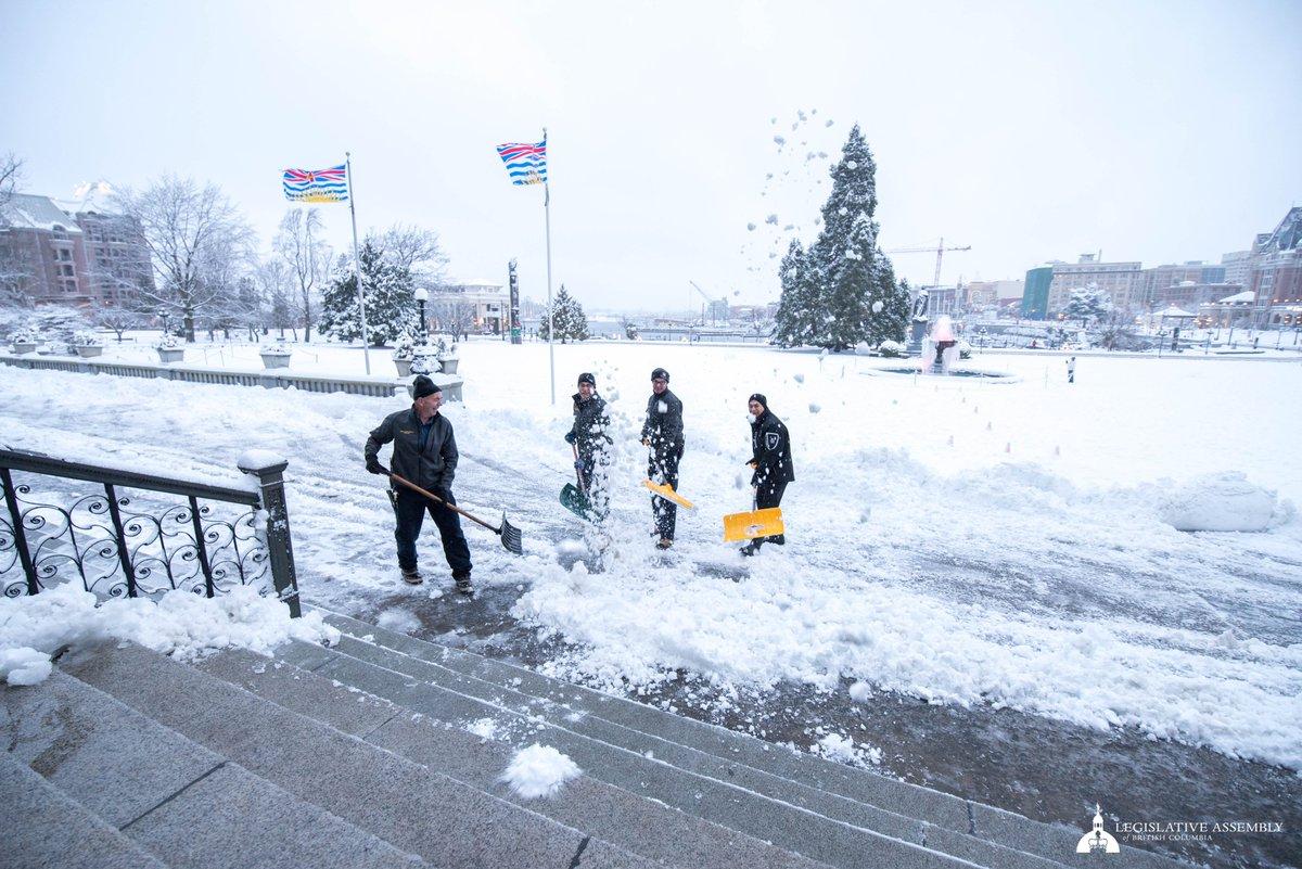 BC Legislature's photo on #yyjsnow