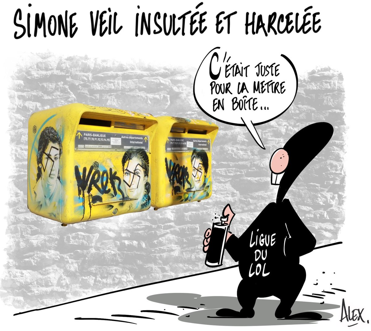 Alex dessinateur's photo on #antisemitisme