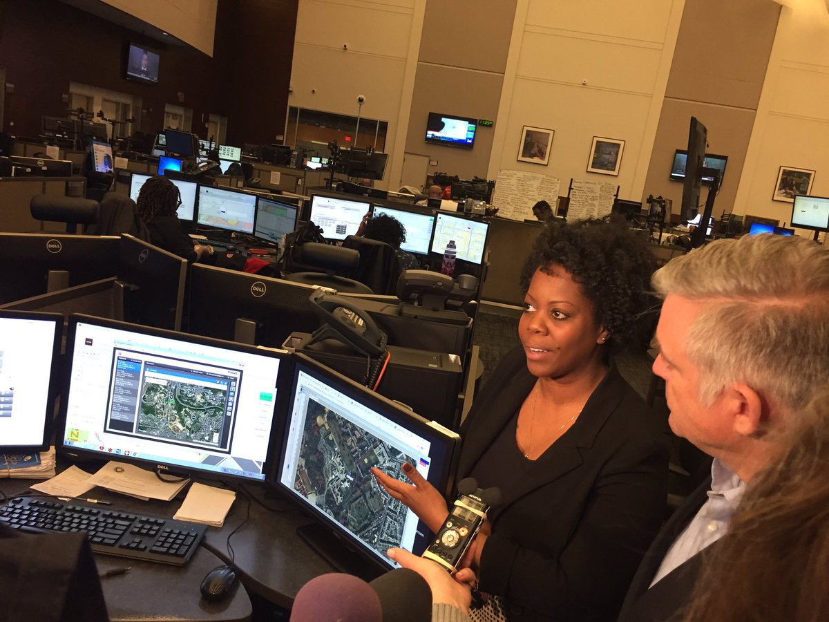 DC's 911 center invited the media in today to show off its news technology to pinpoint the location of calls. It's director says nowadays 80% of 911 calls come from cell phones. The story this evening on Abc7 news