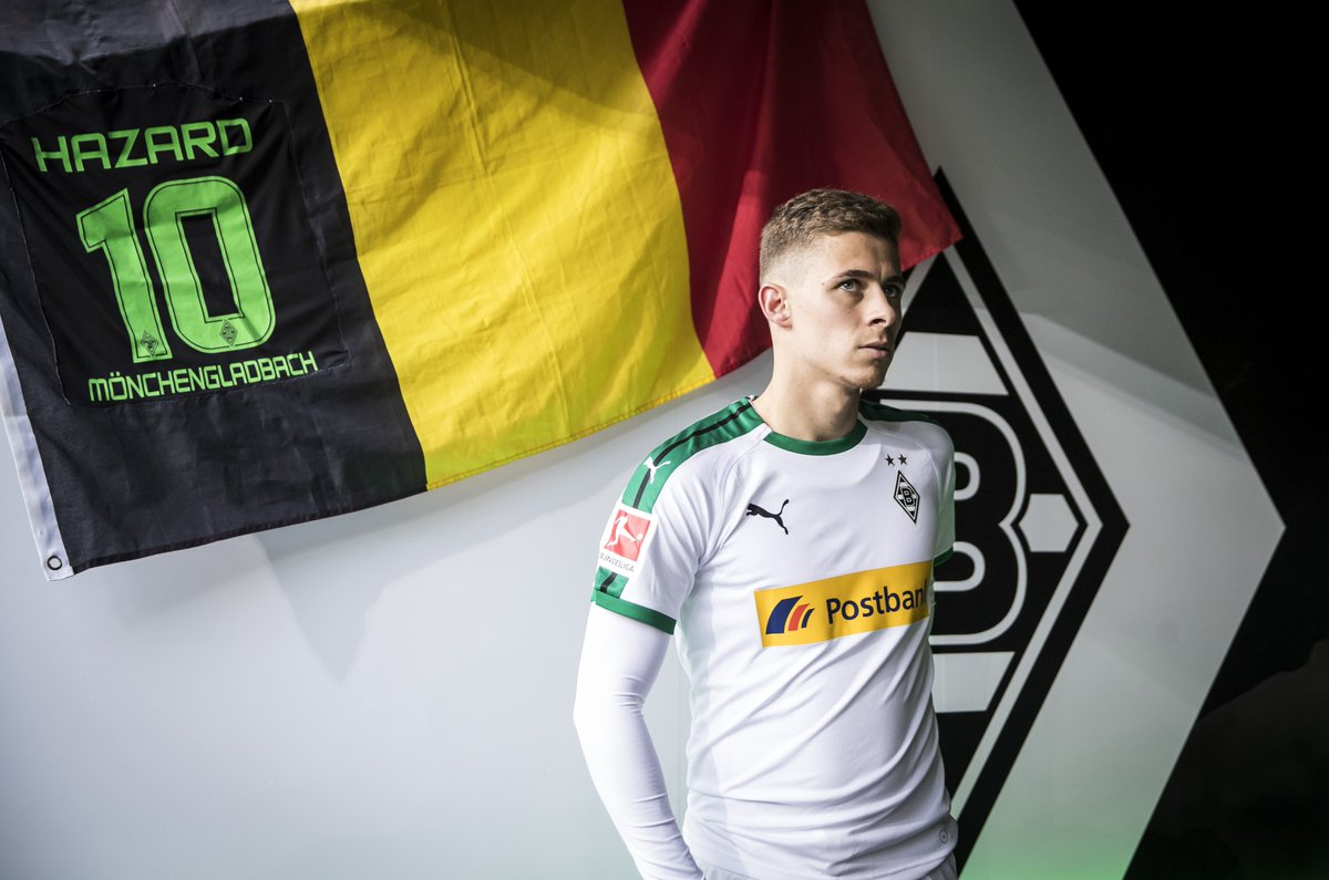 There's no @HazardThorgan8 in training today, as he's been given some extra time off to be with his new-born daughter 👶  #DieFohlen