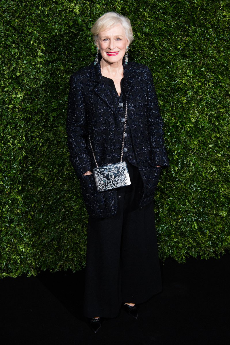 Ambassadors and friends of the House gathered at the Charles Finch & CHANEL pre-BAFTAs dinner. Glenn Close, Ellie Bamber, Alessandra Mastronardi, and Stacy Martin were among the guests.