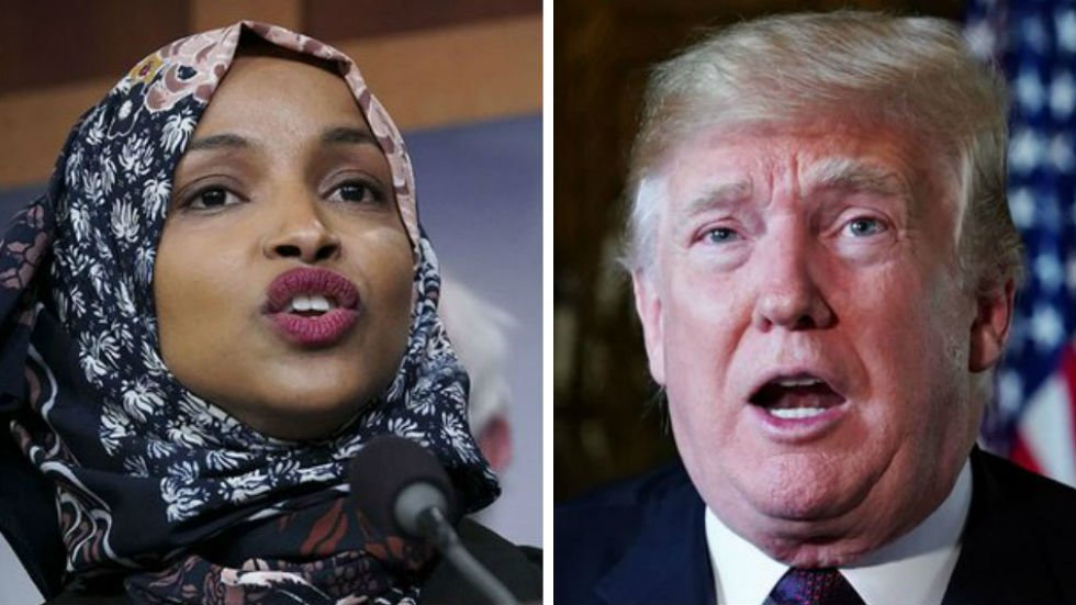 #BREAKING: Trump calls on Ilhan Omar to resign from Congress https://t.co/kHqLKCcpIz https://t.co/KGhYtVgvTX