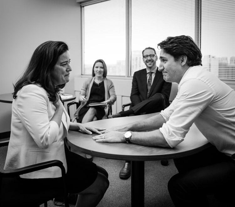 Quand Trudeau annonçait à Wilson-Raybould qu'elle serait ministre de la justice en 2015