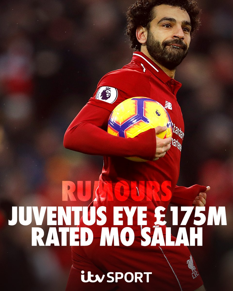 Rumours! @juventusfc looking to prise away @LFC's @MoSalah for £175m  https://t.co/s2hRDqup1l   #LFC #Juve