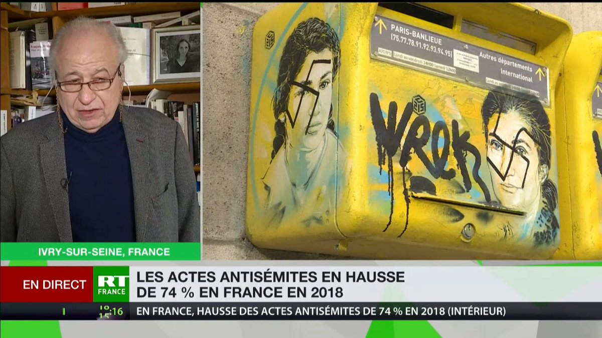 RT France's photo on #antisemitisme