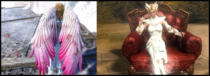 GW2 gemstore update - Wings of Love Glider Combo (700 gems) and Club