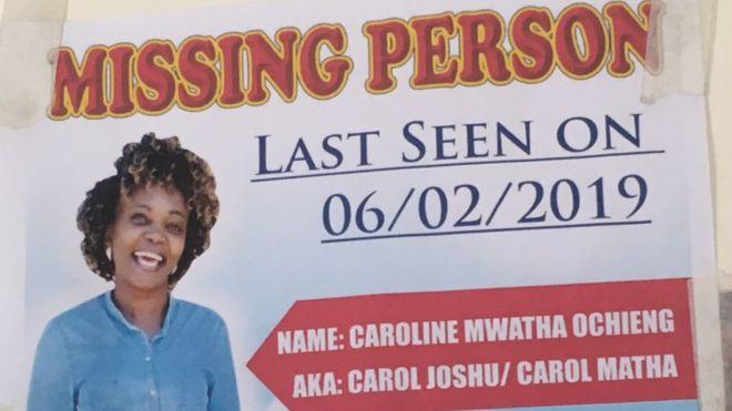 Missing Kenyan activist Caroline Mwatha found dead - Police in Kenya have confirmed #RIP  #UrbanNews #BBCFocusOnAfrica