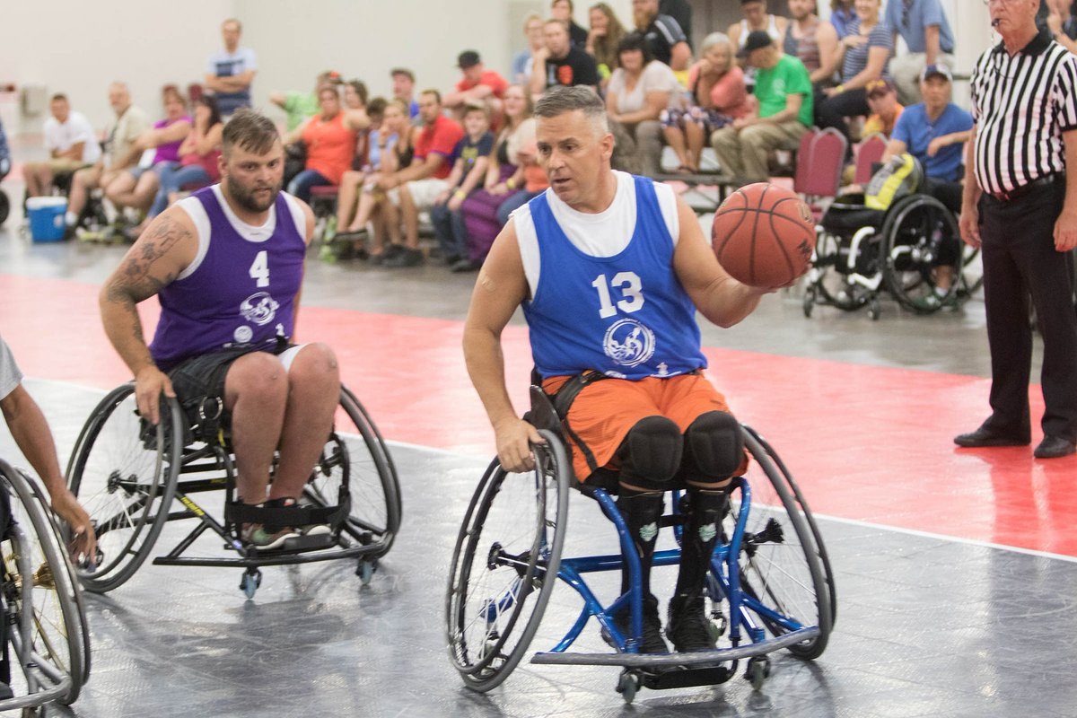 Five months and counting! Don't forget to register for the National Veterans Wheelchair Games in Louisville, KY this year, July 11-16. Visit http://wheelchairgames.org  for more  info. #NVWG @Sports4Vets @KYINPVA @KYConvention