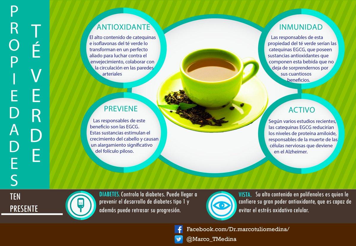 beneficios del té verde para la diabetes