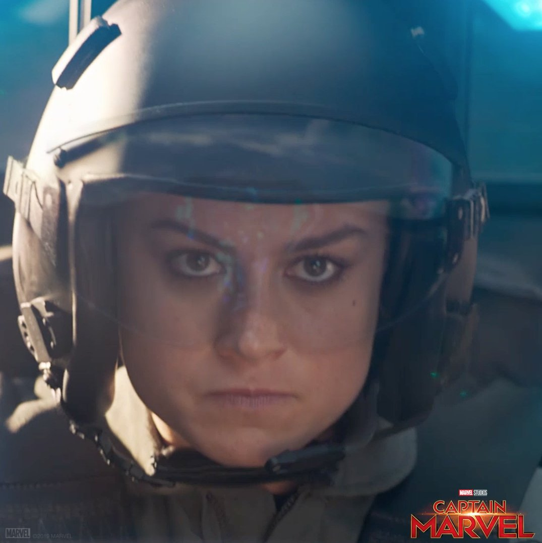 The world needs a hero. See Marvel Studios' #CaptainMarvel in theaters March 8. Get tickets: http://www.Fandango.com/CaptainMarvel