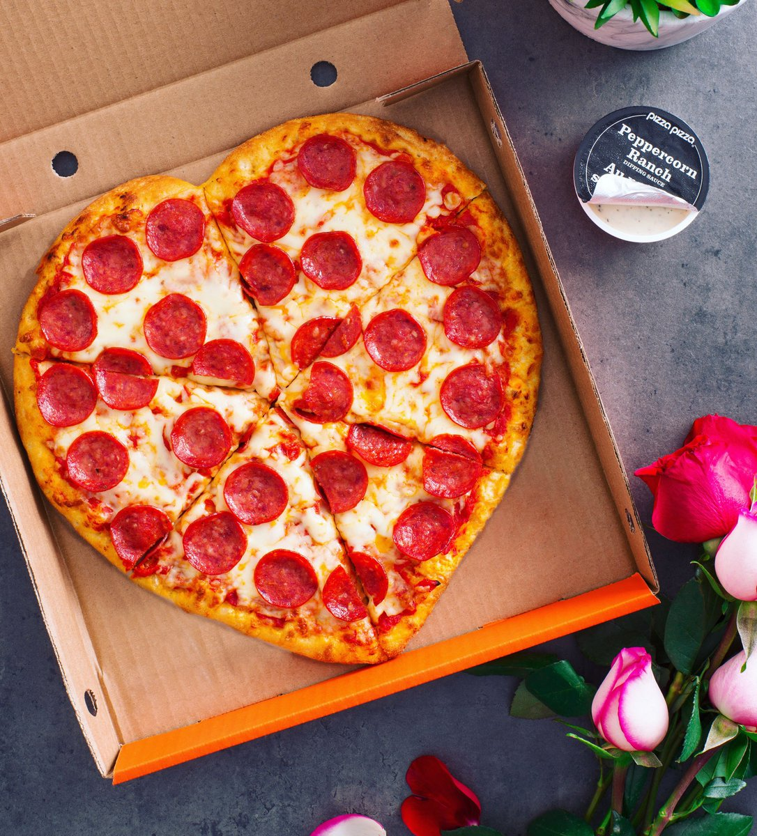 Roses are red, violets are blue, all you need this Valentine's Day is a Heart Pizza for two.  Tag your Valentine for a chance to win a $50 Gift Card!