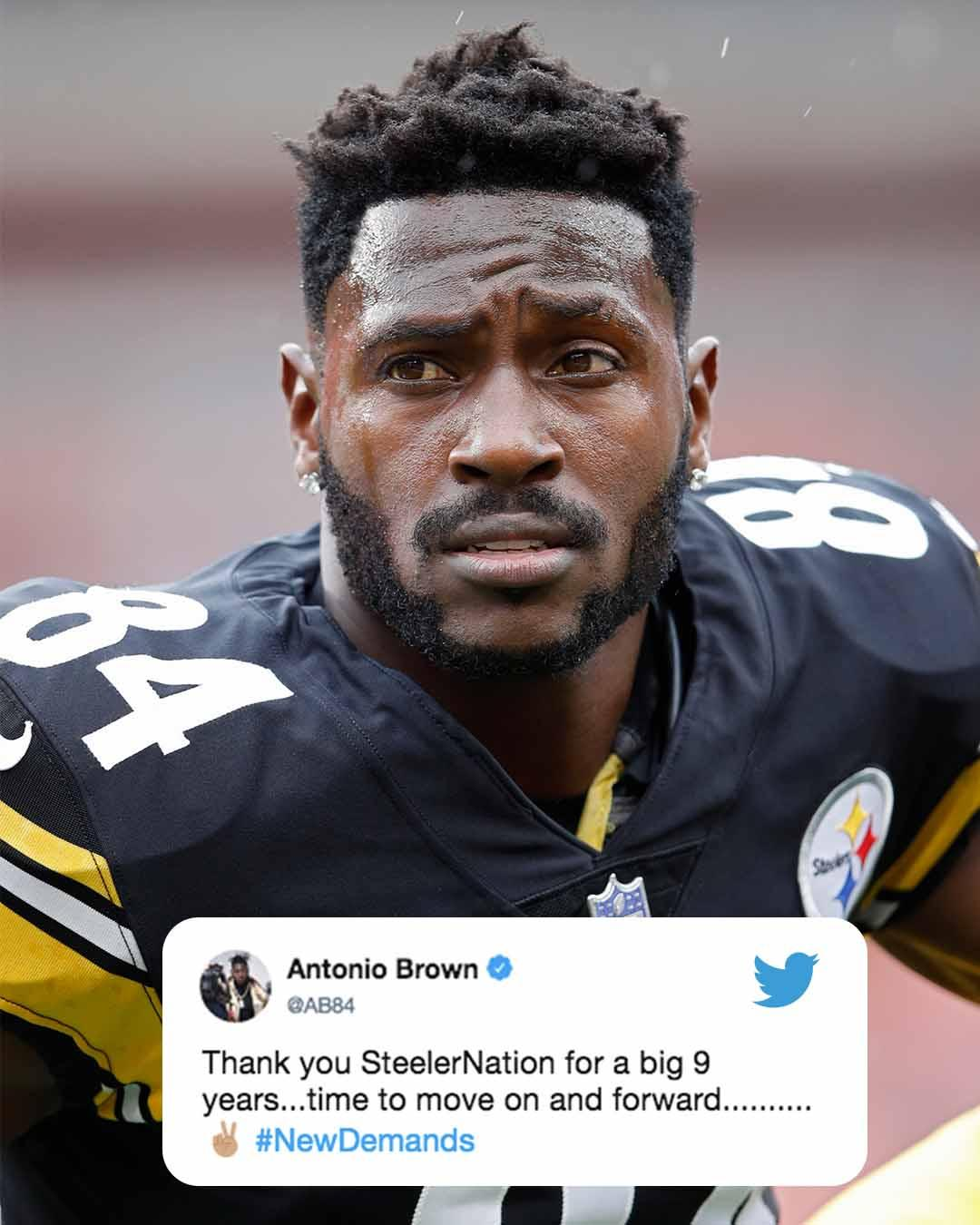 .@AB84 tweeted a farewell to the Steelers and their fans. https://t.co/yYOWy5vANJ
