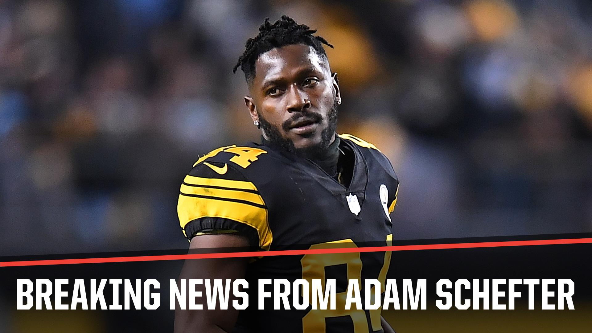 Breaking: Antonio Brown has officially requested a trade from the Steelers, sources told @AdamSchefter. https://t.co/GtUZSVF3lH