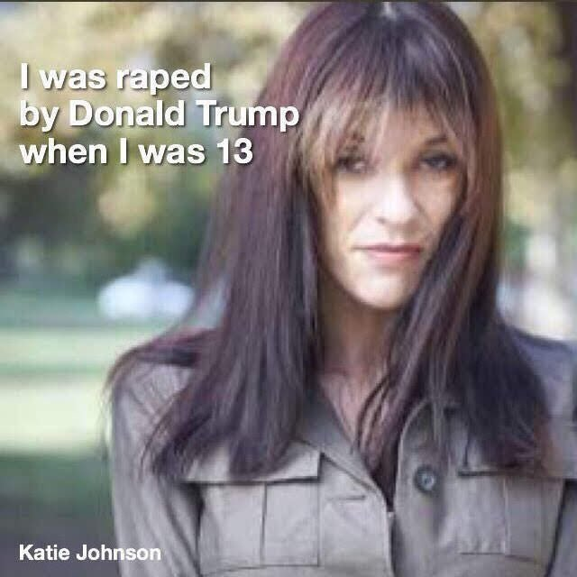 ... for sex w underage girls & he should be locked away forever. But,  perhaps more disturbing is that we have a President who has been accused of  the ...