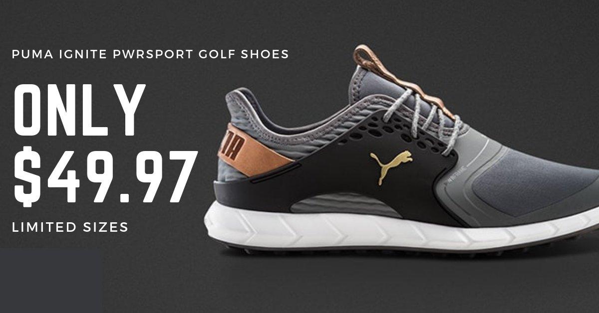 624f16736ff Click to shop here  https   www.fiddlersgreen.com puma-ignite-pwrsport-golf-shoes   …pic.twitter.com atwAmLlHfM
