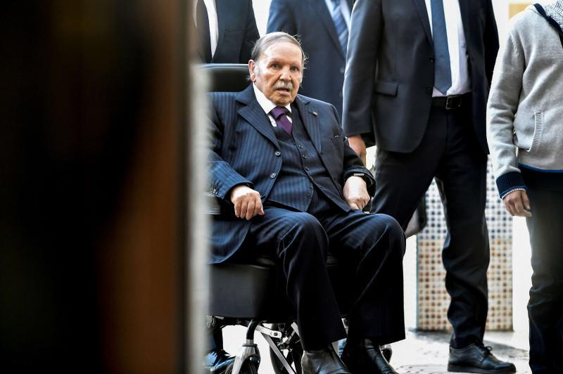 In Algeria, it is official: President for Life Abdelaziz Bouteflika is taking seriously his title and will run for another 5-year at age 82. In a wheelchair since stroke, he has his statements sent out by the gov news agency but while speech impaired he still has ability to talk.