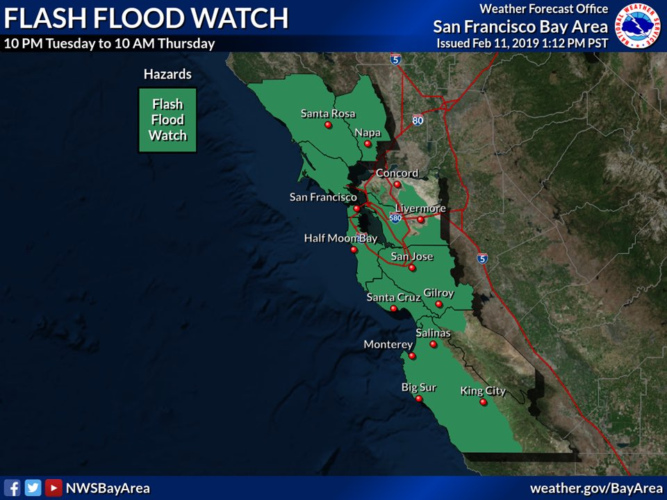 STORM UPDATE: WIND ADVISORY UPGRADED TO HIGH WIND WARNING. FLASH FLOOD WATCH IN EFFECT TONIGHT From 10pm tonight to 10am Thurs; -High Wind Warning for North Bay over 1000' -Wind Advisory for North Bay under 1000' -Flash Flood Watch for North Bay Info @   http://www. srcity.org/emergency  &nbsp;  <br>http://pic.twitter.com/r4WN5ANvI5
