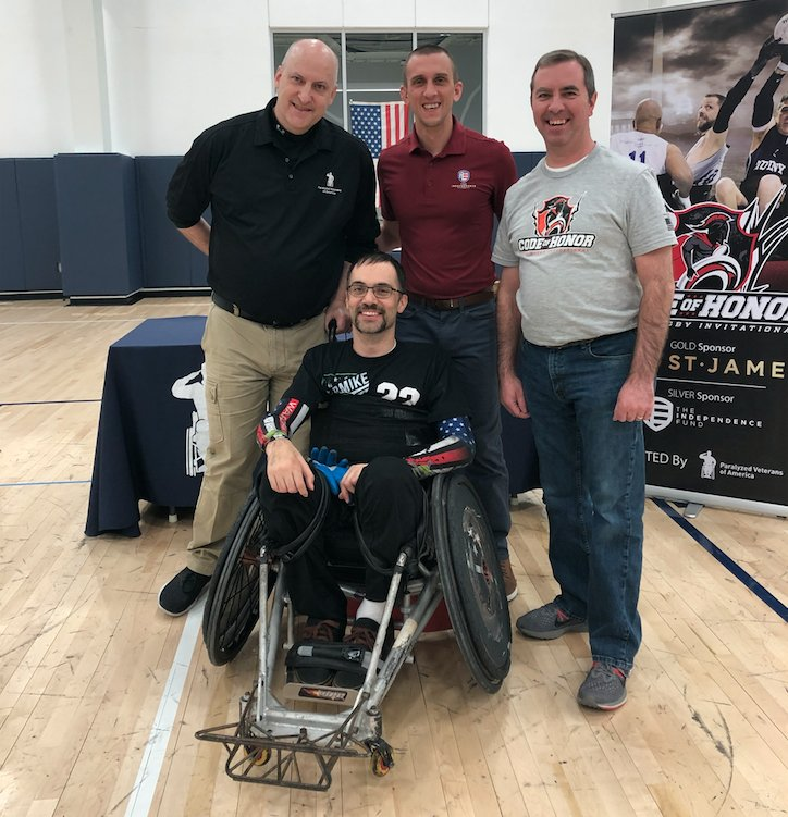 This past weekend, we had the privilege of assisting with the #PVACodeOfHonor Quad Rugby Tournament. We are truly honored to partner with @PVA1946 in so many ventures to assist our nation's wounded #Veterans.