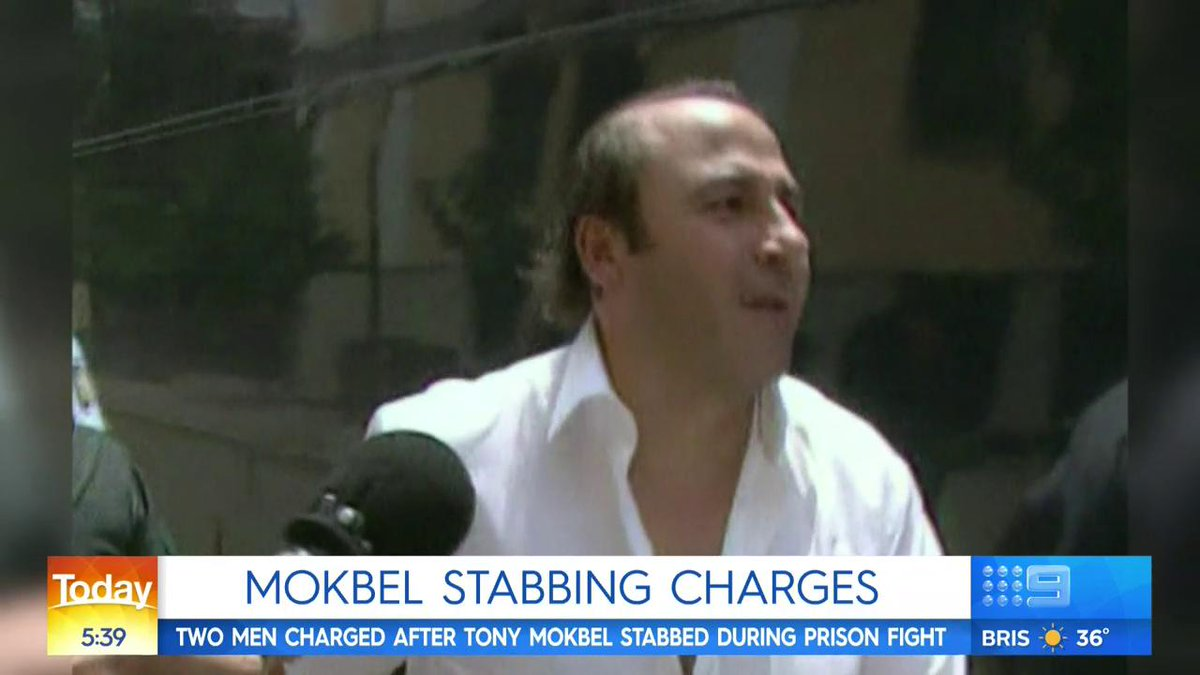 The Today Show's photo on tony mokbel