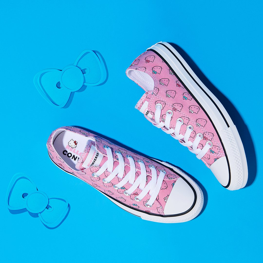 Sweet new kicks 🎀 Shop the latest  converse x  hellokitty collection now   http d50c674b39c05