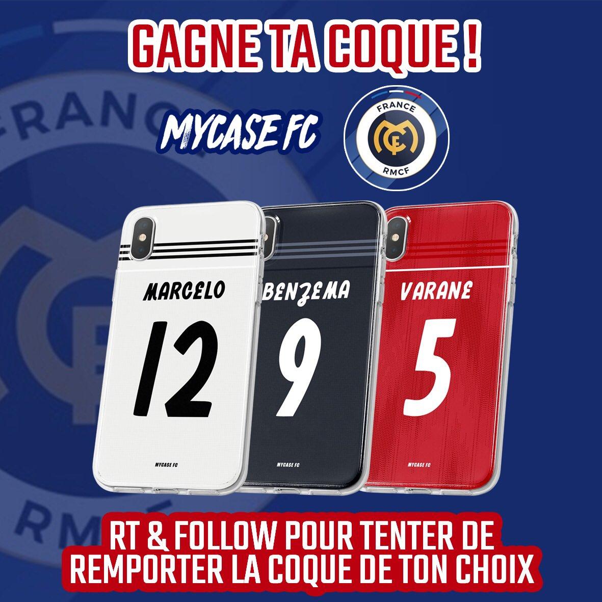 JEU CONCOURS !  RT + FOLLOW @FranceRMCF pour tenter de gagner ta coque parmi un large choix. http://www.mycasefc.com/  TAS ce vendredi 15/02  Bonne chance à tous 💪🏻