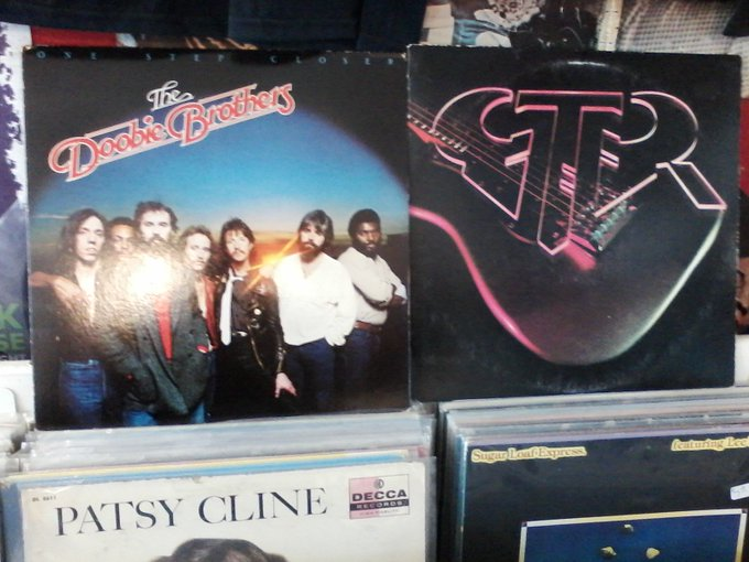 Happy Birthday to Michael McDonald of Doobie Brothers & Steve Hackett of GTR (& Genesis)