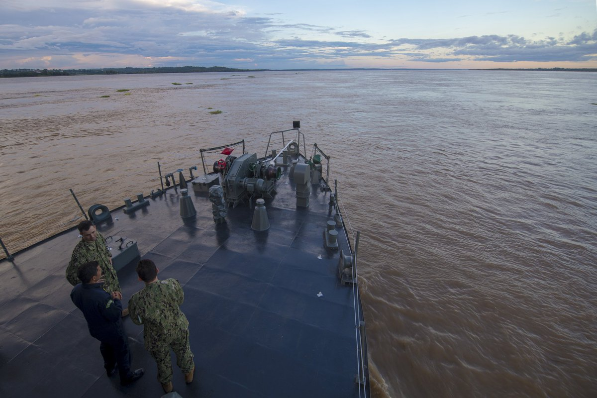 @USNavy and Brazilian Navy medical providers deployed aboard the Brazilian hospital ship NAsH Carlos Chagas (U-19) to deliver medical care to rural villages along the Amazon River. #NavyPartnerships  #MarinhadoBrasil. #USNavy https://www.navy.mil/submit/display.asp?story_id=108577…