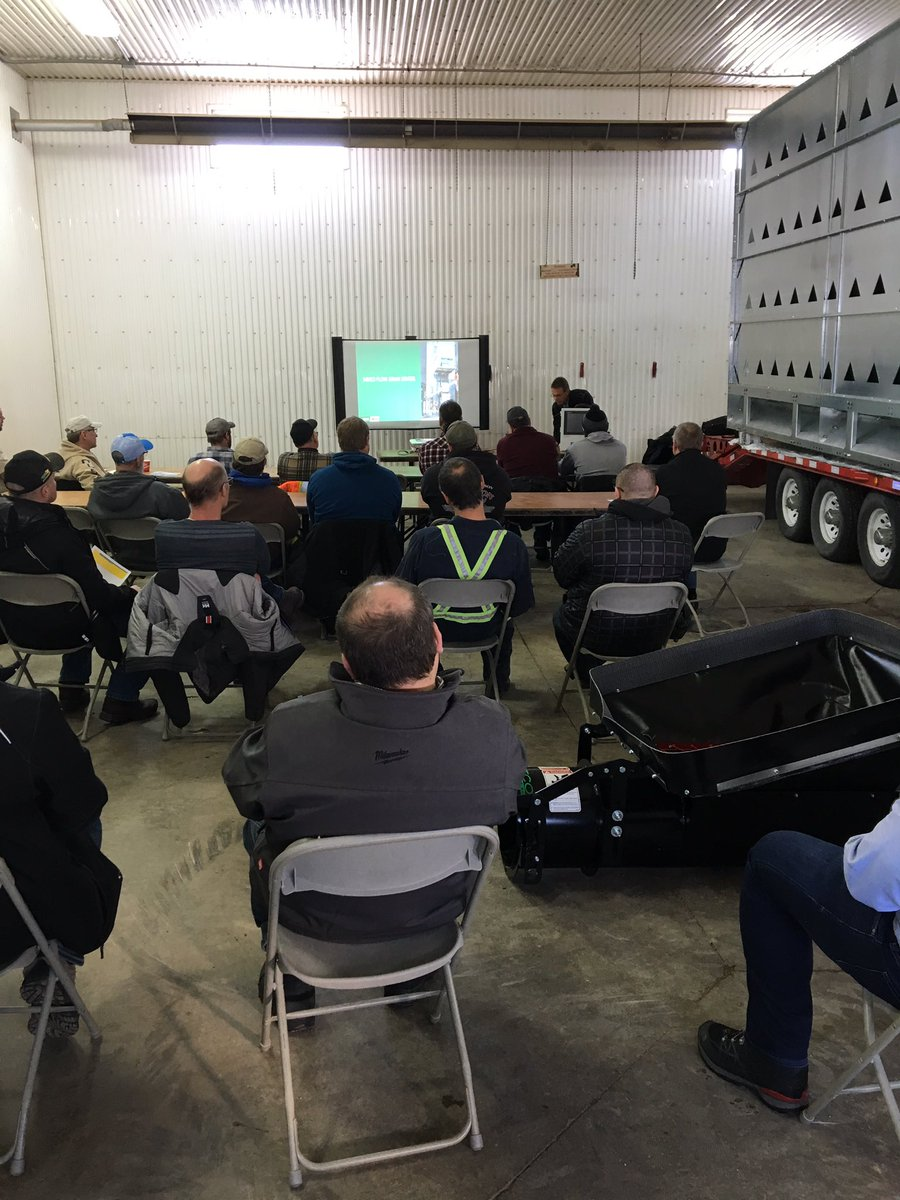 Great attendance for the NECO Dryer day hosted by Yorkton Flaman today! @AgGrowthIntl #graindrying #NECO