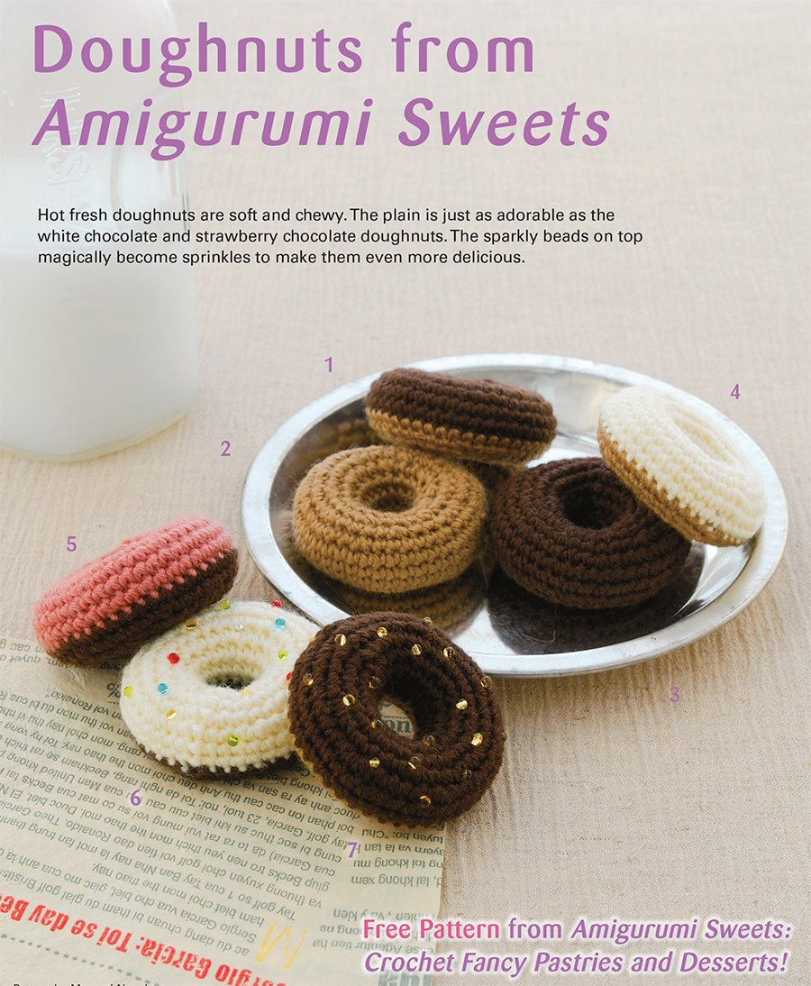 Japanese Collection Amigurumi I: Crochet Kawaii Critters designed ... | 1094x900