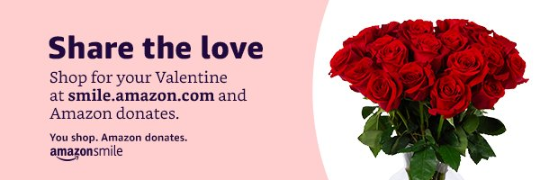 It's almost time to say Happy #ValentinesDay! If you're placing a last-minute order on Amazon, please remember to shop through @amazonsmile and choose Junior Achievement of Greater Miami as your charity! https://amzn.to/2N0xhsW