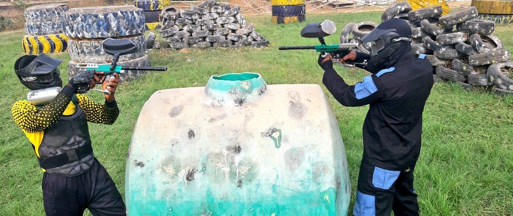 Adrenaline rush like no other #WeAreRapid #paintball #Abuja #Fun #action #battlegames #runhideshoot #adventure #extremesport #Weekday #squad #noretreatnosurrender #adrenalin #team #AbujaTwitterCommunity