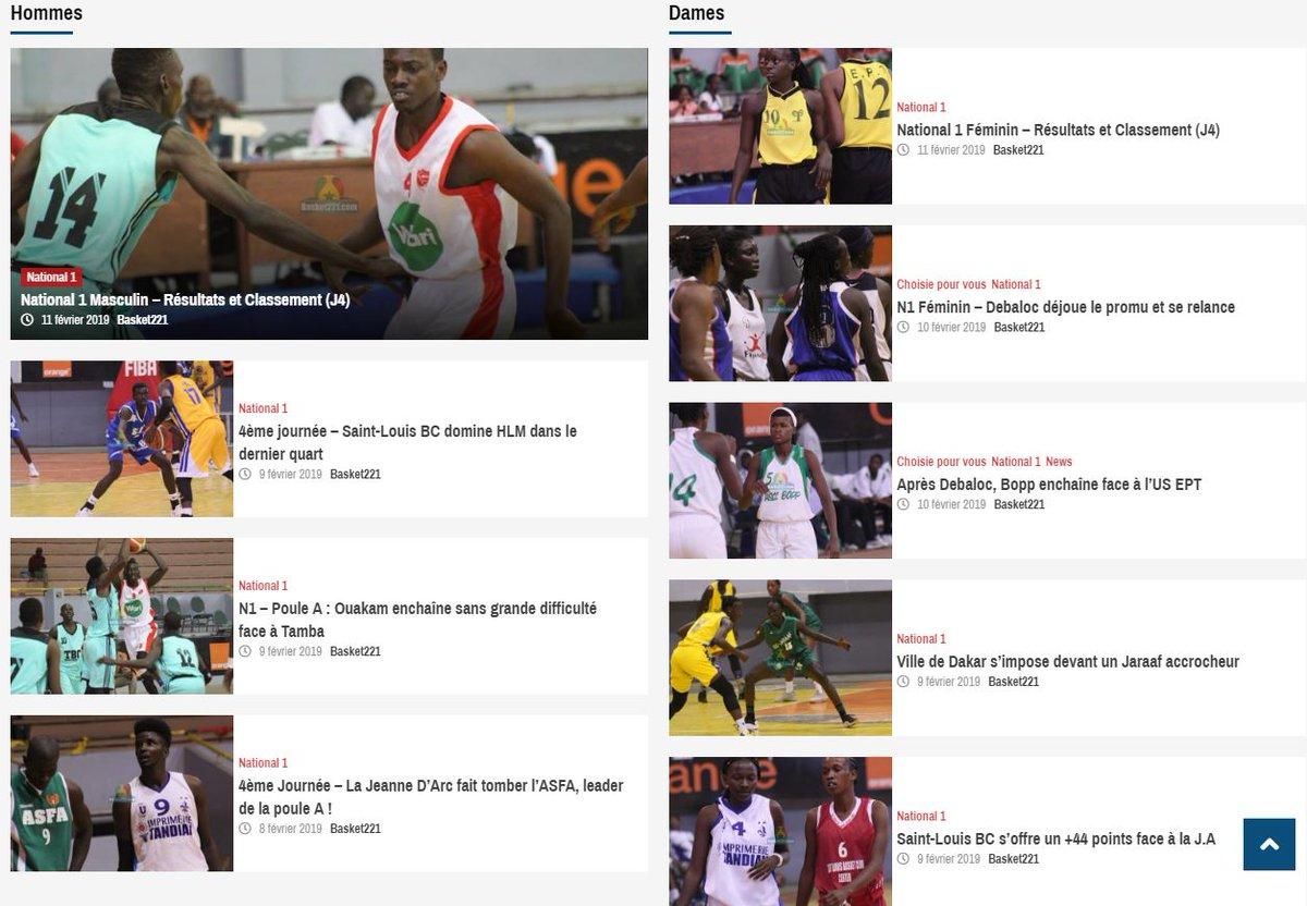 1e44ef5c70e1 Nous sommes de retour, http://Basket221.com ! Nouveau site, nouveau design,  nouvelles orientations. #Senegal #Basket #Basket221 #Kebetu @FSBBOFFICIEL  ...