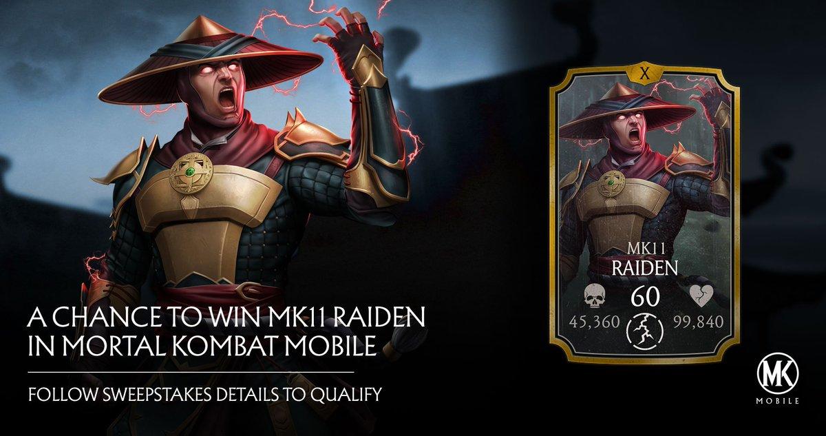 Mortal Kombat Mobile On Twitter Show Us Your Best Raiden