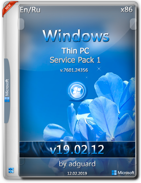 Windows Thin PC SP1 with Update [7601 24356] (x86) by adguard (v19