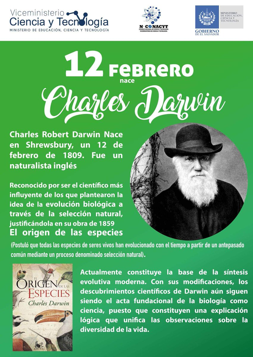 NCONACYT's photo on Charles Darwin