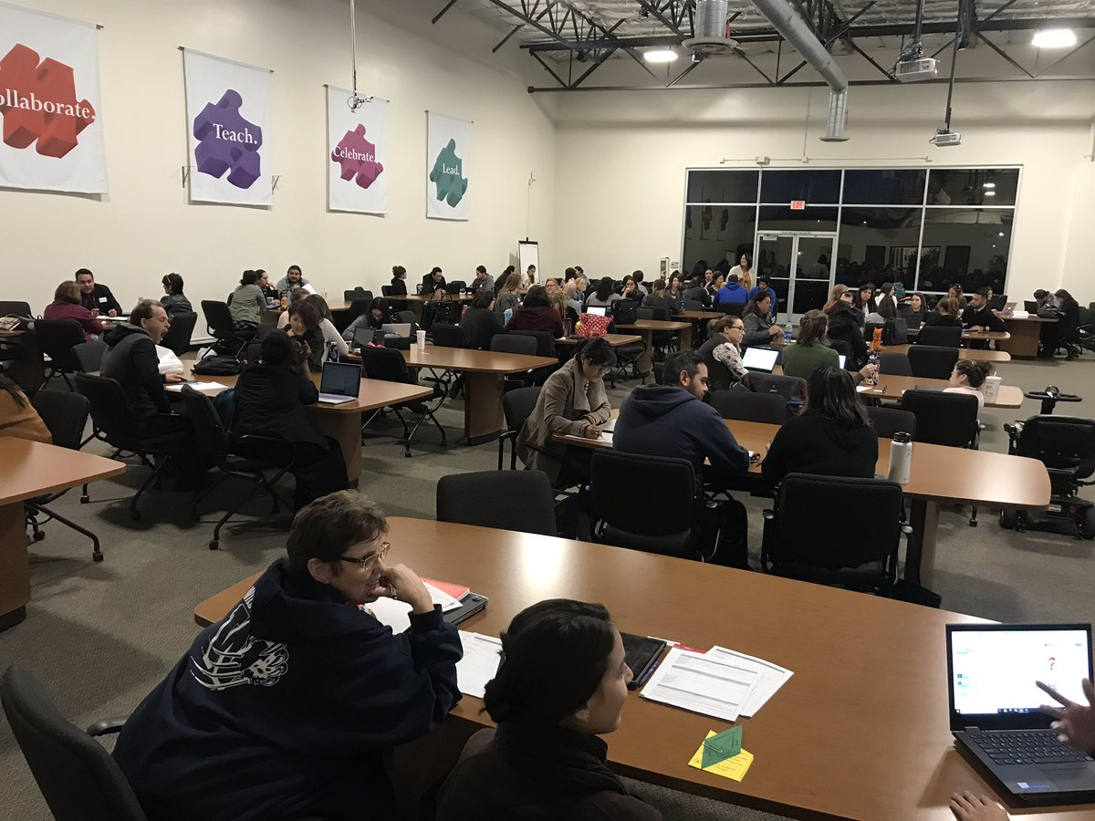Wow, that's a lot of SUHSD Induction Candidates at tonight's Q3 Seminar! Viva the ILP (individual learning plan)!