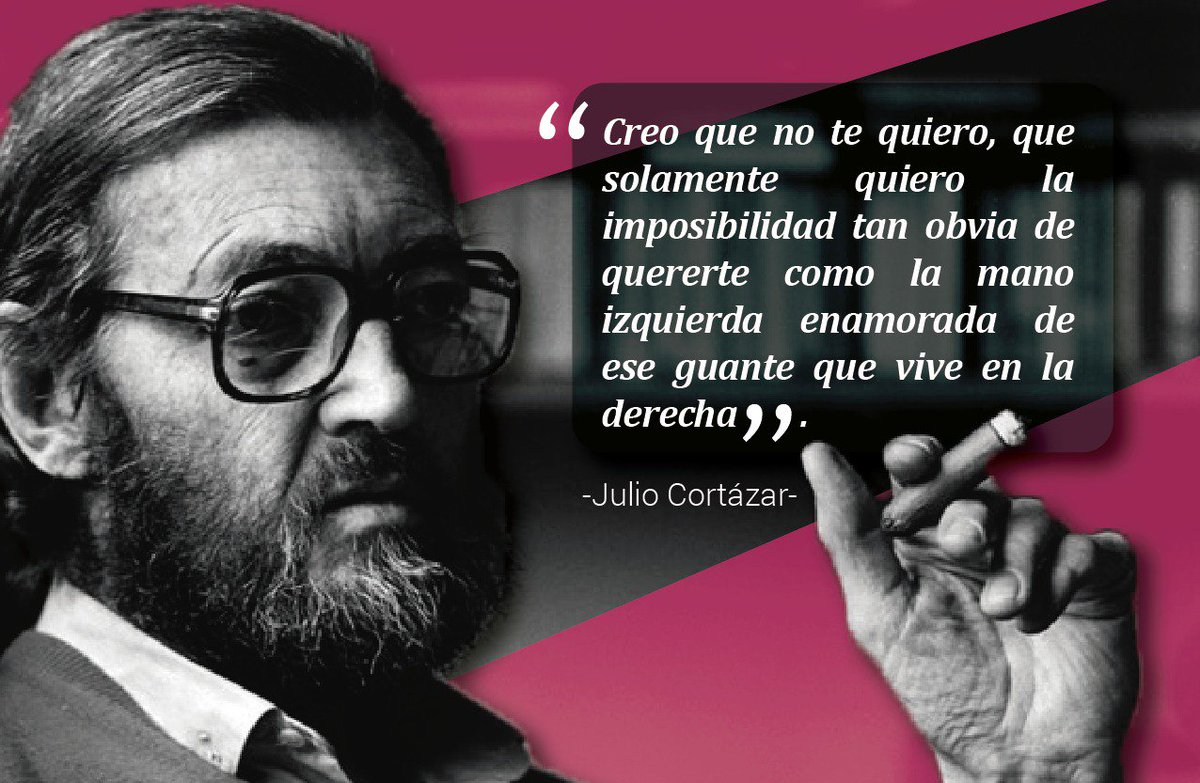 Maricela Serrano's photo on Julio Cortázar