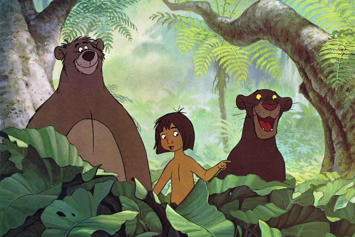 Traditionalanimation On Twitter The Jungle Book Model Sheets Walt