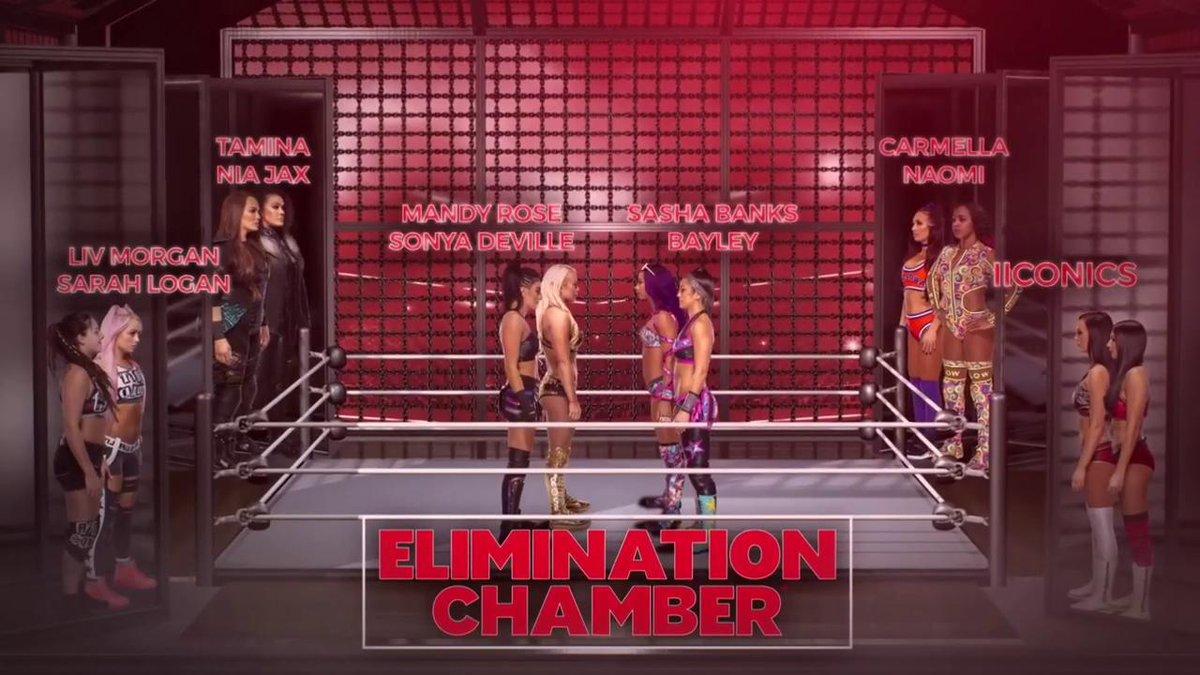 Resultado de imagen de alexa bliss elimination chamber 2019