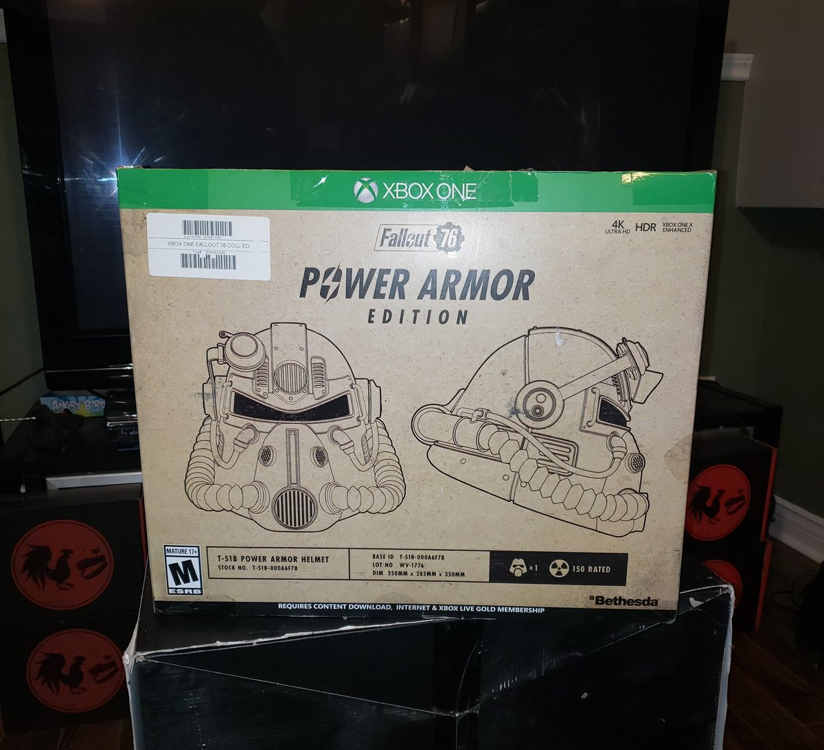 fallout 76 power armor collectors edition xbox one